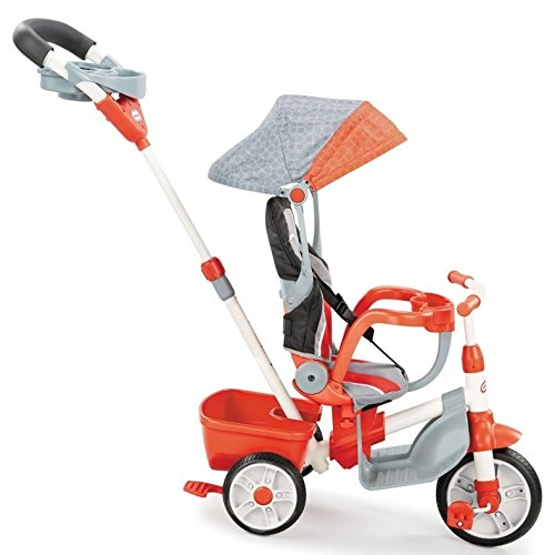 Little Tikes 5-in-1 Deluxe Ride & Relax, Reclining Trike - - Trike Ride