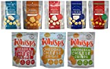 8 Pack Low Carb Crunchy Snack Assortment - Moon Cheese (5 flavors) and Cello Whisps Crisps (3 flavors)