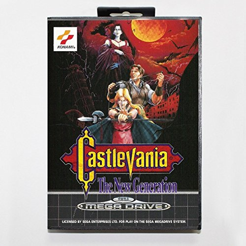 Taka Co 16 Bit Sega MD Game Castlevania The New Generation Boxed Version 16bit MD Game Card For Sega Mega Drive And Genesis