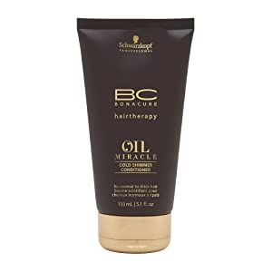 BC Bonacure OIL MIRACLE Gold Conditioner, 5.07-Ounce
