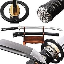 Japanese Katana Musashi Full Tang Folded Steel Sharp Sword Can Customize
