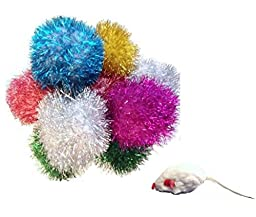 Sparkle Ball Cat Toy - 5 Pack (2 to 2.5\