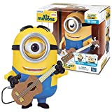 Thinkway Toys Illumination Entertainment Minions Movie Exclusive 8-1/2 Inch Tall Electronic Figure - MINION STUART Interacts with Guitar