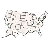 Roylco R-52027 USA Collage Map Grade Kindergarten to 1, 3