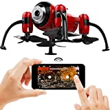 Kolibri Torpedo Micro Camera Drone for kids with FPV App Video Stream, Altitude Hold, Headless Mode, One-Button Auto Take-Off & Landing, Nano Quadcopter for Beginners Model: XK2380