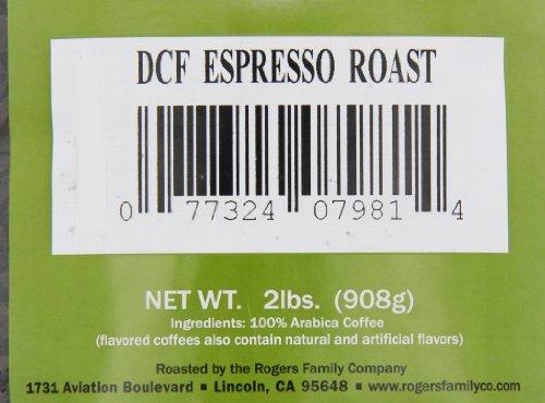 San Francisco Bay Coffee Whole Bean, Decaf Espresso Roast, 32 Ounce