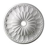ELK Lighting M1009WH Melon Reed Ceiling Medallion 32'' in White