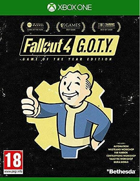 Fallout 4 GOTY - Xbox One [Importación inglesa]: Amazon.es ...