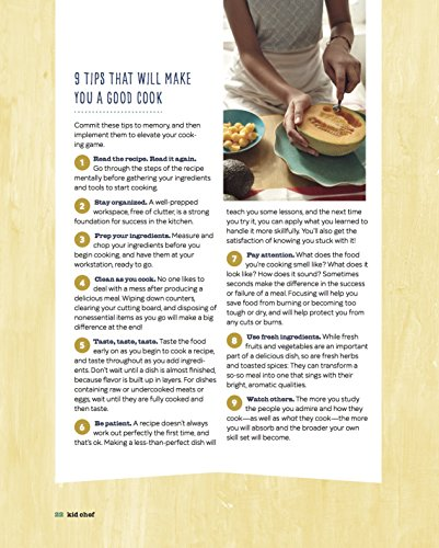Kid Chef: The Foodie Kids Cookbook: Healthy Recipes and Culinary Skills for the New Cook in the Kitchen by Callisto Sonoma Sonoma Press (Image #3)