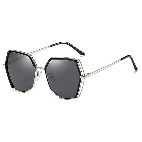 ZRTYJ Gafas de Sol Hexágono Irregular Polaroid Gafas De Sol ...