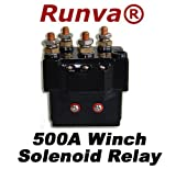 Winch Relay Solenoid 12V 500Amps for Recovery Winch (5000lb to 12000lb)