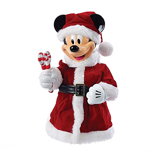 Kurt Adler 10-Inch Mickey Mouse Treetop/Tablepiece with Bendable Arms (Toppers Disney Tree)