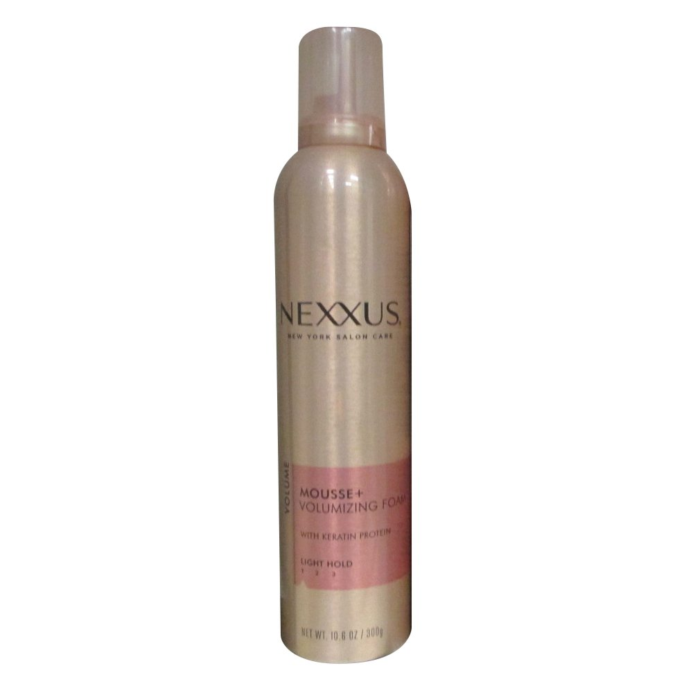 Nexxus Mousse Plus Volumizing Foam, for Volume, 10.6 oz NXM