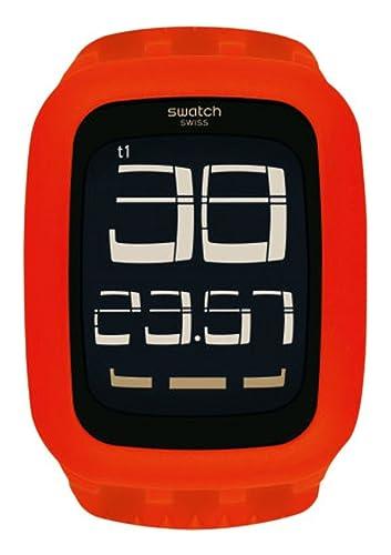 Swatch Hombre Touch surr105 Rojo silicona reloj de cuarzo: Swatch: Amazon.es: Relojes