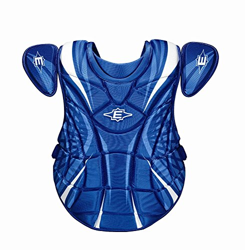 Easton New Synge Chest Protector Fastpitch 14'' Intermediate Royal/White by Easton