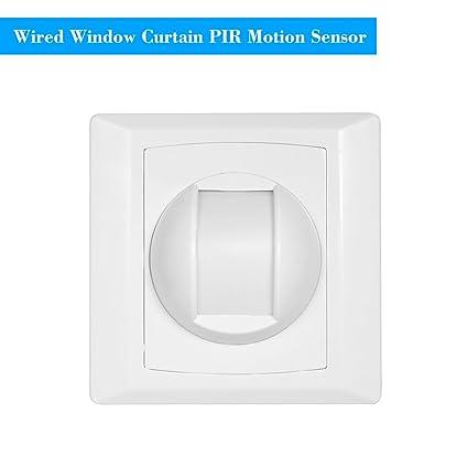Amazon.com: OWSOO Wired PIR Motion Sensor Window Curtain ...