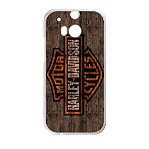 HTC One M8 Cell Phone Case White Harley Davidson F9802166