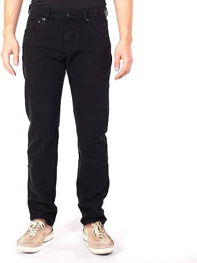 fairjeans Pantalones Vaqueros para Hombre, Color Negro, 100 ...