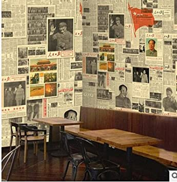 Buggy Restaurant Café Bar-Lounge Retro Revolution Zeitung Tägliche ...