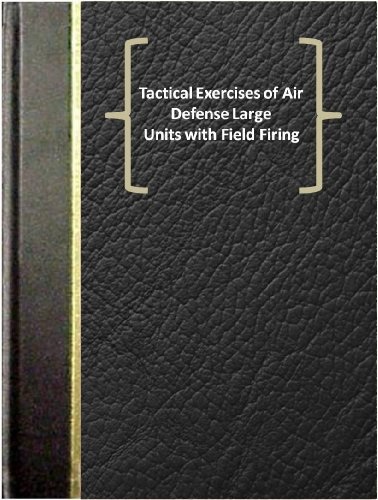 Tactical Exercises of Air Defense Large Units with Field Firing