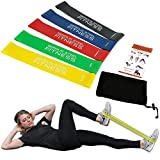 Serious Steel Fitness 12″ Mini Loop Resistance Band Rehab, Prehab, Dynamic Exercises Carrying Bag Included and Quick Start Guide Included Review