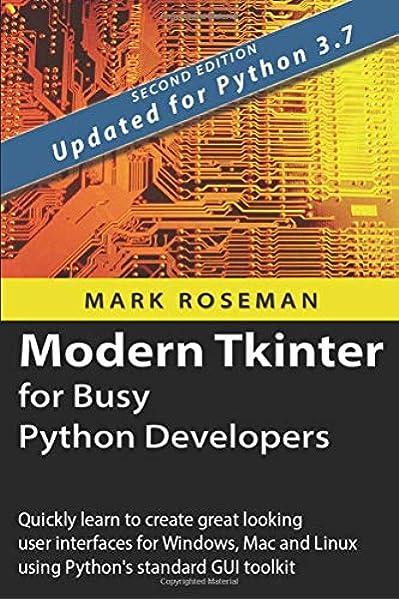 python and tkinter programming pdf free download