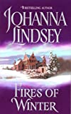 Front cover for the book Fires of Winter by Johanna Lindsey