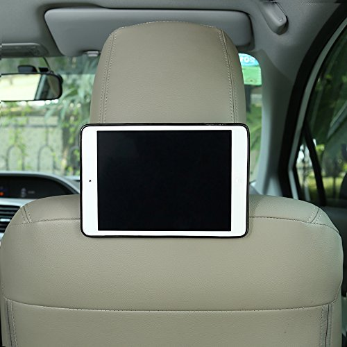 Bayan iPad Mini 2/iPad Mini Headrest Mount-Black TPU Silicon Case Cover 3IPADMINIHM_BK
