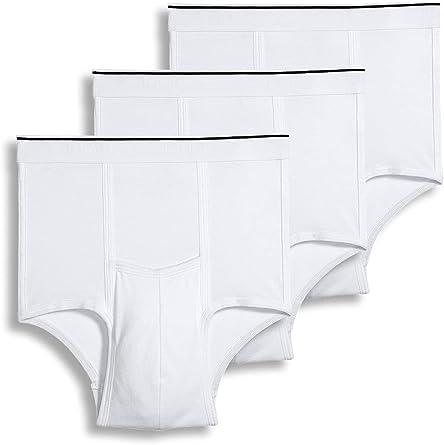 Jockey Men's Underwear Pouch Brief - 3 Pack