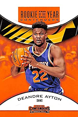 9e420f7e3819 2018-19 Panini Contenders Rookie of the Year Contenders Retail  3 Deandre  Ayton Phoenix