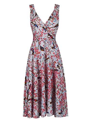 Love Camden Damen Kleid Kleid Blau hellblau Einheitsgröße OUD8Q