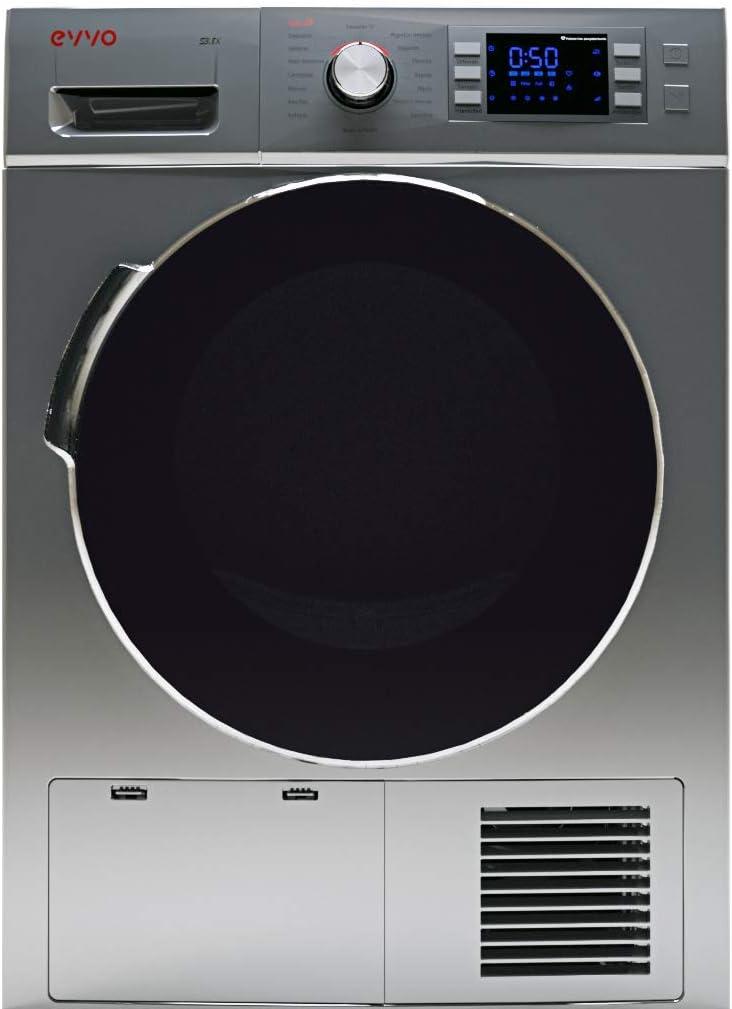 Secadora EVVO S3.8DX Condensación 8 kg - Marca Española - 4 años de garantía - Color blanco