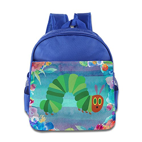 Discovery Wild Child Toddler Kids Backpack School Bag, The Very Hungry Insect - (Rolling Caterpillar)