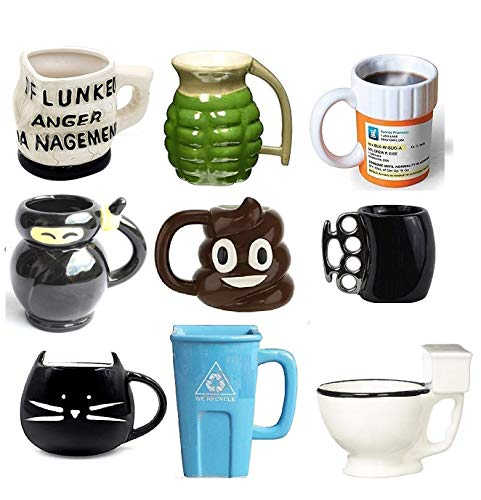 4 Coffee Mug - Best Office Cup, Christmas Present, Birthday Gift For Men & Women, Him or Her (Anger Management Coffee Mug)
