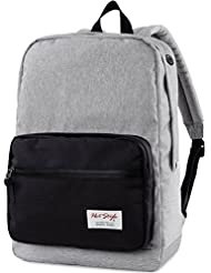 915s Vintage School College Backpack | 18.1x11.8x6.3 | Holds 15.6-inch Laptop