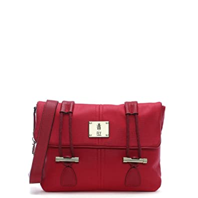 7a11f56f14 Fly London Dipi Red Canvas Cross-Body Bag Red Fabric  Amazon.co.uk ...