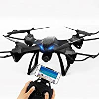 OOFAY Drone with Camera Four-Axis Aircraft Set High Aerial Drone Remote Control Aircraft Toy Helicopter A Key Return To Headless Mode