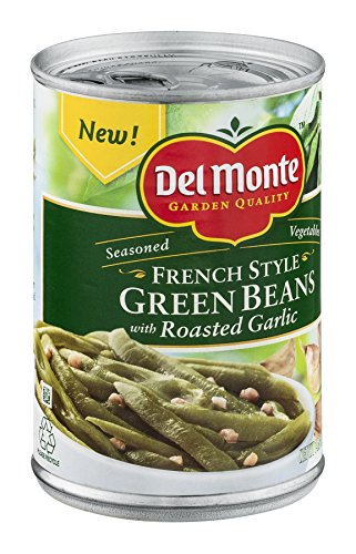 UPC 024000525387, Del Monte, Seasoned French Style Green Beans with Garlic, 14.5oz Can (Pack of 6)