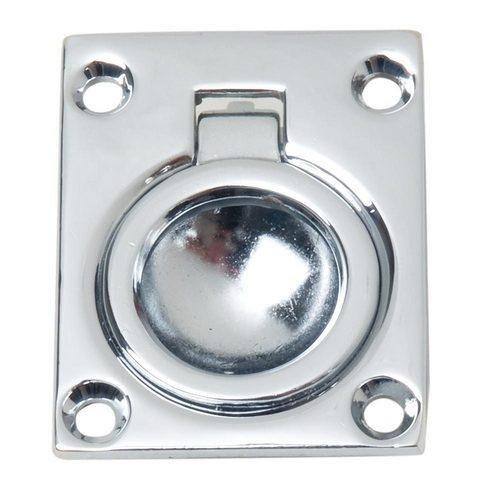 (Perko Flush Ring Pull - Chrome Plated Zinc)