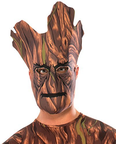 Rubie's Costume Co Men's Guardians Of The Galaxy Groot Foam Mask, Multi, One Size