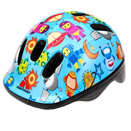 Meteor Baby Kids childrens Boys Cycle Safety Crash Helmet Small size MV6