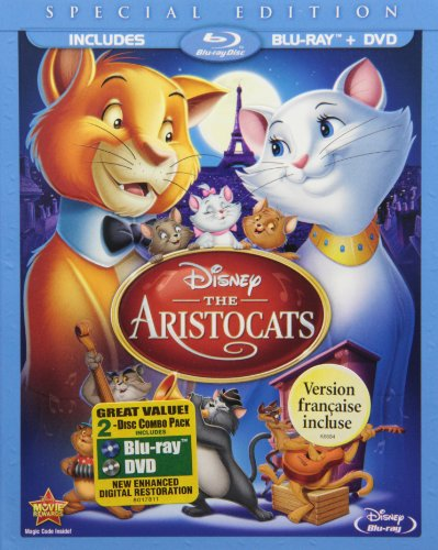 The Aristocats (Two-Disc Blu-ray/DVD Special Edition in Blu-ray Packaging)