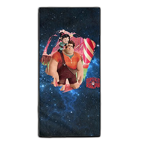 [Super Wreck Boy Seamless Bathroom Furniture Towels One Size] (Wreck It Ralph Costume For Girls)