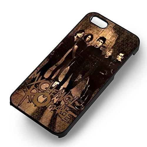 Retro Poster Mcr pour Coque Iphone 6 et Coque Iphone 6s Case (Noir Boîtier en plastique dur) R6X3DK