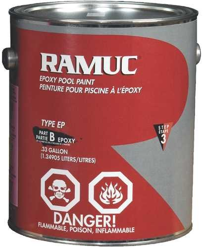 RAMUC 908131101 EP Epoxy Pool Paint, White