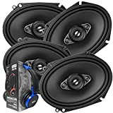 2 Pairs of Pioneer 5x7/ 6x8 Inch 4-Way 350 Watt...
