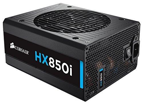 6 opinioni per Corsair HX850i 850W ATX Black power supply unit- power supply units (850 W, 100-