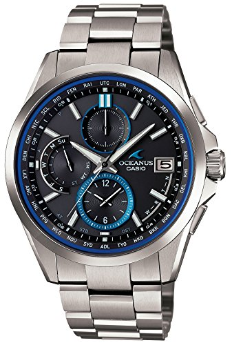 CASIO Watch OCEANUS Classic Line World Six Stations Radio Waves Corresponding Solar Watch OCW-T2600-1AJF Men