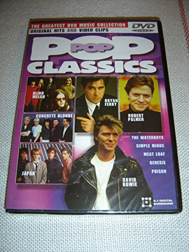 Pop Classics - Original Hits & Video Clips / The Greatest DVD Music Collection / ENGLISH 5.1 Digital Surround [European DVD Region 2 PAL]