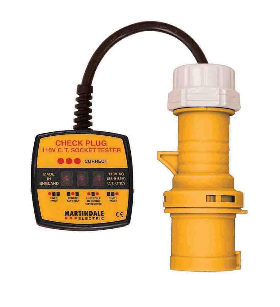 Martindale CP301 110V 16A Industrial Socket Tester